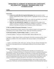 Assignment 2 - Worksheet Template for Summaries