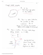 Charged Isolated Conductors Notes