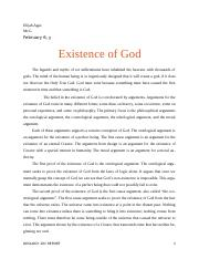 Existence of God  -1 (1).docx