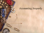 accounting jeopardy UMSL chap 5,6,8,10