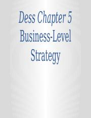 BAMG30900-Fall 2016-Class 09-Business Level Strategies