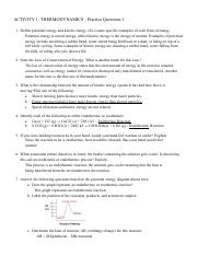 THERMODYNAMICS - Practice Questions.pdf