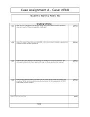 Template Coverpage Individual Case Assignment A MKT1003X.docx