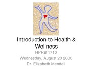 Introduction_Health_Wellness_WebCT_Fall08