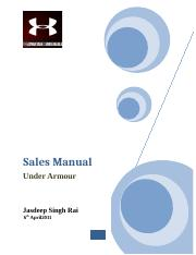 complete sales manual