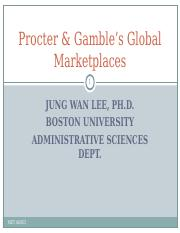 Case4_Procter&Gamble's Global Marketplaces.ppt