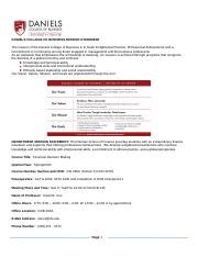 cox -FIN 2800 3 -Winter 2015 syllabus.doc