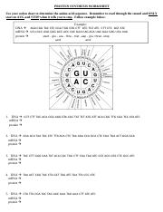 PS Worksheet - TCC