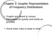 3 - Graphing Frequency Distributions