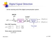 Part III- 3 - Digital Signal Detection
