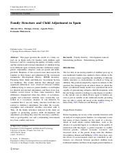 Family Structure and Child Adjustment in Spain.pdf