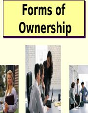 3 - Chapter 3 Forms of Ownership and Business Franchizing.ppt