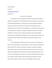 German essay 5