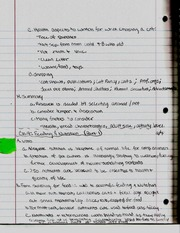 Feeding & Nutrition  Notes