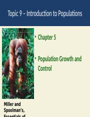 Topic 9  populations.pptx