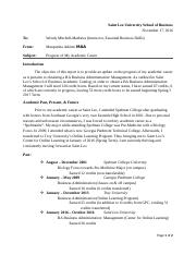 Essential Business Skills Module 5 Informal Report-Interim Academic Progress Report (M. Atkism).docx