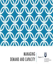 Topic 13 - Managing Demand and Capacity.pdf