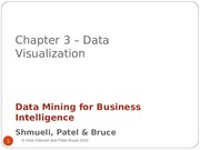 Lecture 3 - Data Visualization & Reduction