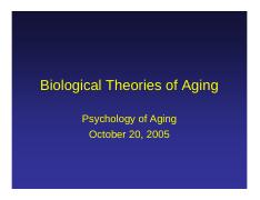 Biological theories of aging.pdf