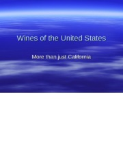 17. Wines of the United States