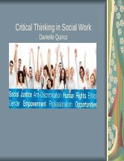 Critical Thinking in Social Work.ppt
