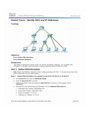 5.3.1.3 Packet Tracer - Identify MAC and IP Addresses 5.3.1.3 Answers_Page_1.jpg