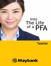 A day in a Life of PFA (1)