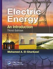 Book for ECE 3072 Electric.Energy.An.Introduction.Third.Edition..Mohamed.A..ElSharkawi