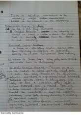 Behavioral and Emotional Coping Strategies Notes