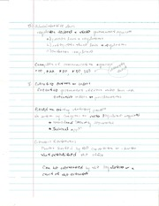 COM 352 Adninistrative Law Notes