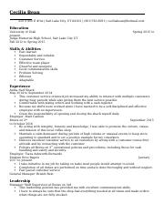 Updated Resume final