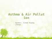 Asthma & Air Pollution