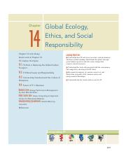 17. Chapter 14 - Global Ecology-Ethics and Social Responsibility.pdf