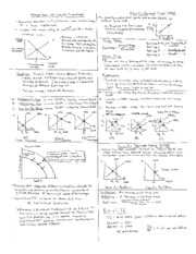 Intro to Macroeconomics Cheat Sheets (2)