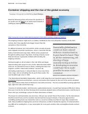 LO2.1 Container shipping and the rise of the global economy.docx