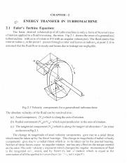 Turbomachines notes-