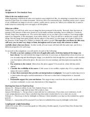 Text Analysis Essay