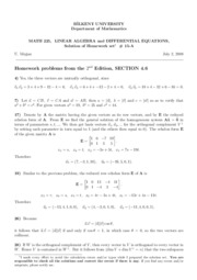 homework set 15-A-Solutions