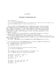 MATH 171 Assignment 1 Solutions