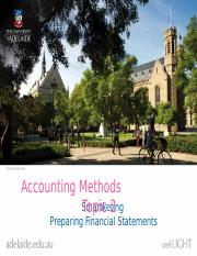 Topic2SmartketingPreparingFinancialStatements
