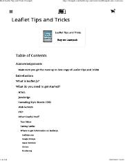 Read Leaflet Tips and Tricks _ Leanpub