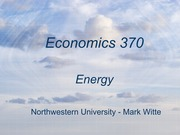 Econ 336 - Energy lecture