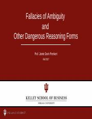 Fallacies of Ambiguity etc 2017 full set.pptx