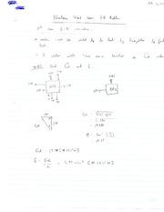 Newton's Second Law 2-D Problems Note