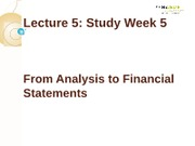 IFA-1Lecture 5-From Event to Financial statements(1)