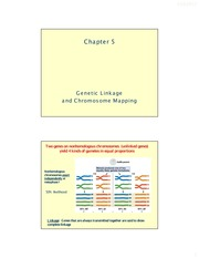 Chapter 05_Genetic Linkage and Chromosome Mapping