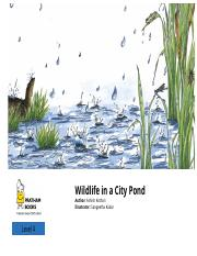 Wildlife in a City Pond – Saving the Environment.pdf