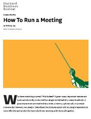 How To Run a Meeting.pdf