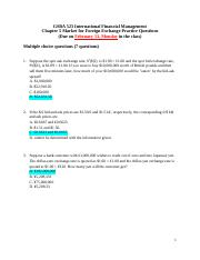 2. GSBA 523 Chapter 5 - Practice Questions
