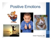 Psyc 153 W15 9 Positive Emotions